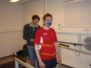 Vo2 max test, August Krogh Institutet