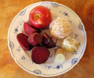 ingredienser rødbedejuice