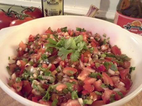 Crunchy Salsa